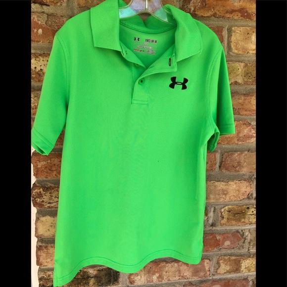 preocuparse Humilde Won  Under Armour Shirts & Tops | Ymd Boys Green Under Armour Polo Golf Shirt |  Poshmark